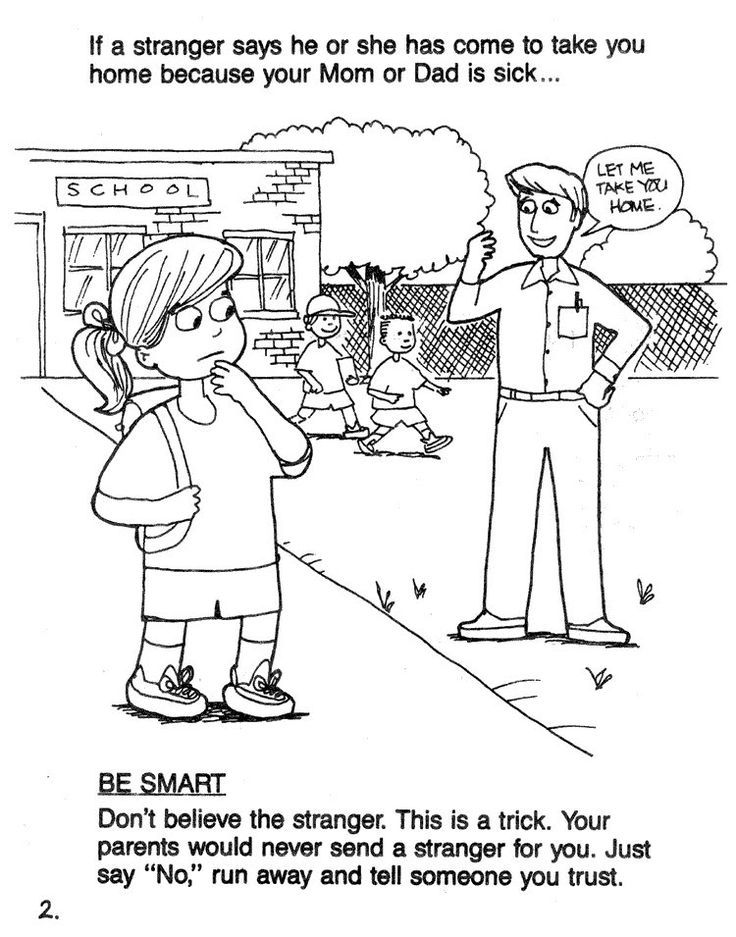 online safety coloring pages - photo#25