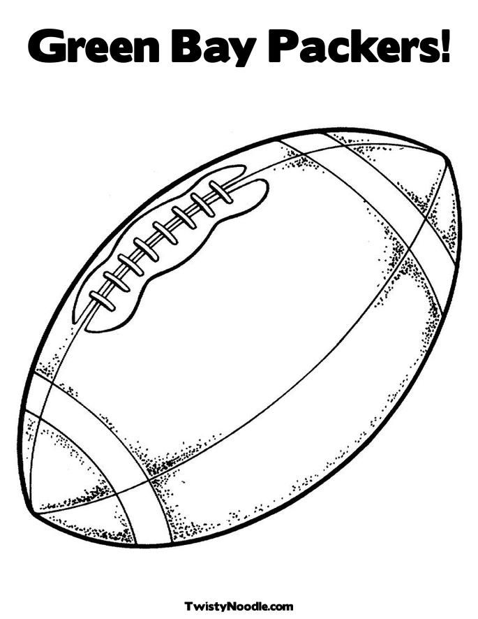 16 Pics Of Green Bay Packers Football Helmet Coloring Pages