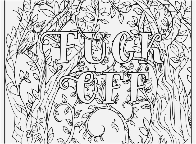 Free Printable Coloring Pages For Adults Only Swear Words Concept -  Coloring Home