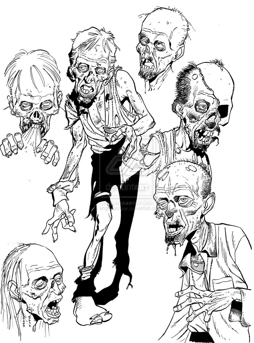 Adult Best Scary Zombie Coloring Pages Images beauty scary zombie coloring pages az 1000 images about on pinterest for images