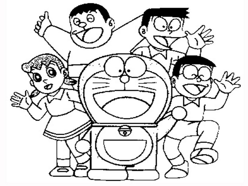 Doraemon Coloring Pages Coloring