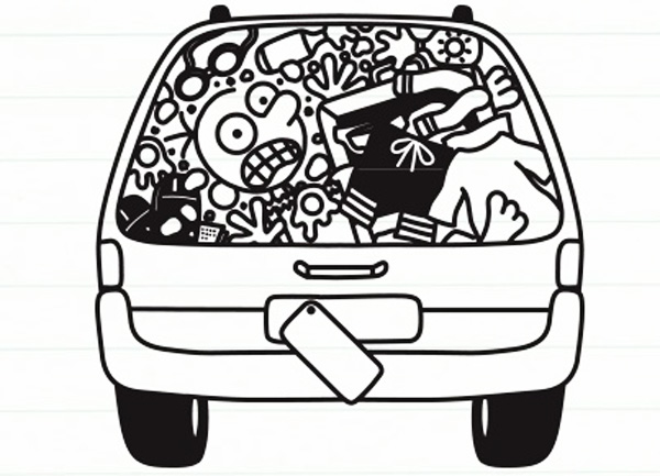 Diary Of A Wimpy Kid Coloring Page