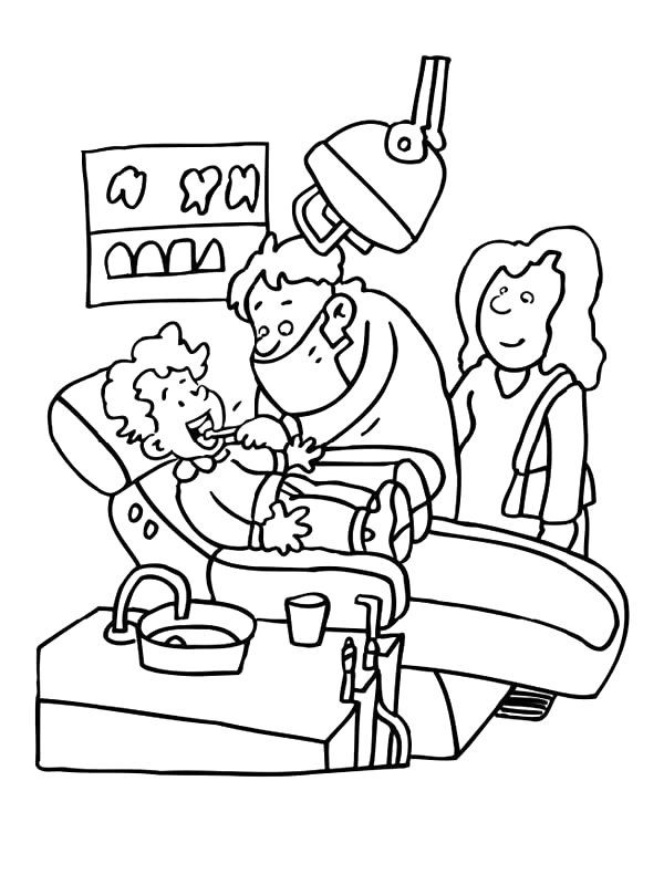 jobs and occupations coloring pages - photo#42