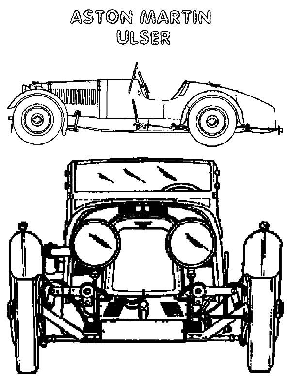 Aston Martin Wiring Loom Including Aston Martin Car Coloring Pages