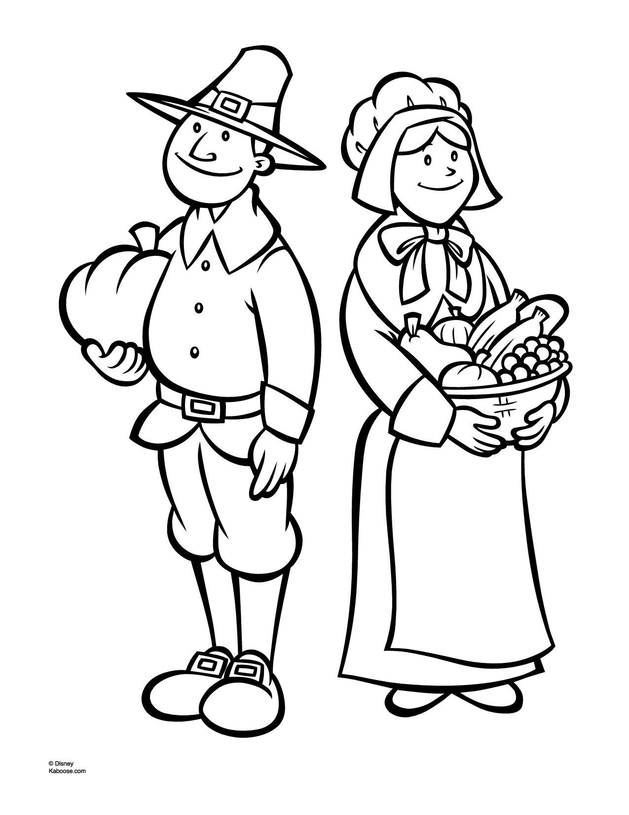 Indian Corn Coloring Page Coloring
