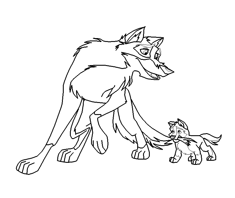 Balto Coloring Pages - Coloring Home