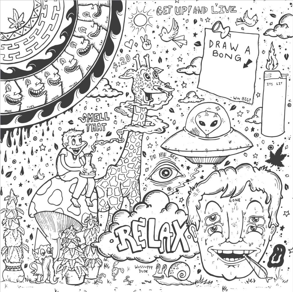 - Get Creative With 5 Trippy Coloring Book Designs TarcherPerigee