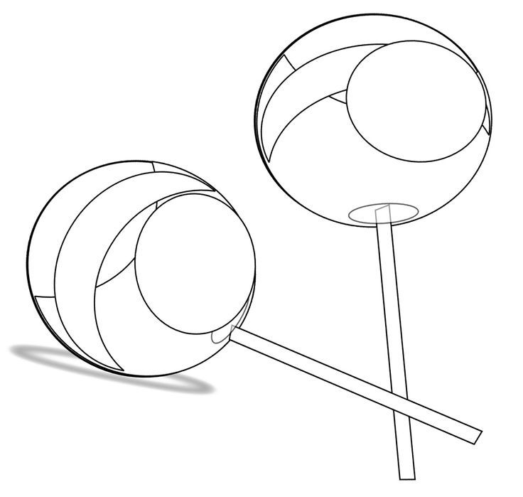 sucker coloring pages - photo#11