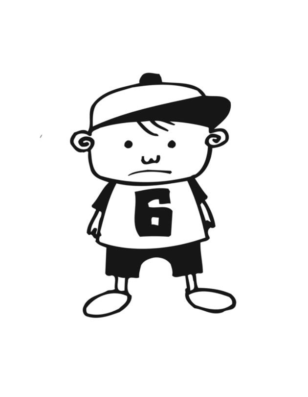 Little Boy Coloring Pages  GetColoringPagescom