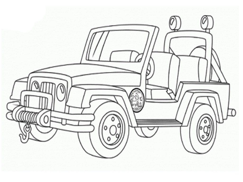 Military jeep coloring pages realistic coloring pages
