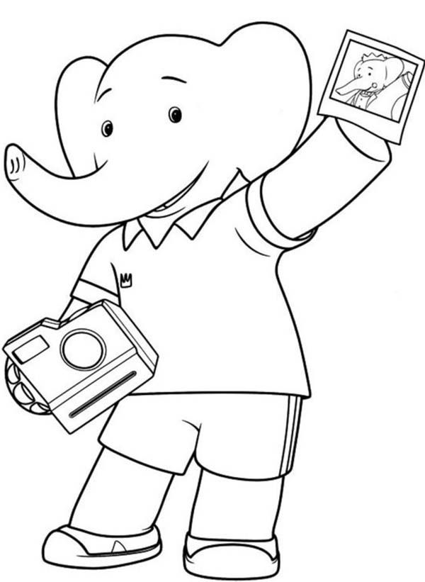 Camera Coloring Pages Coloring