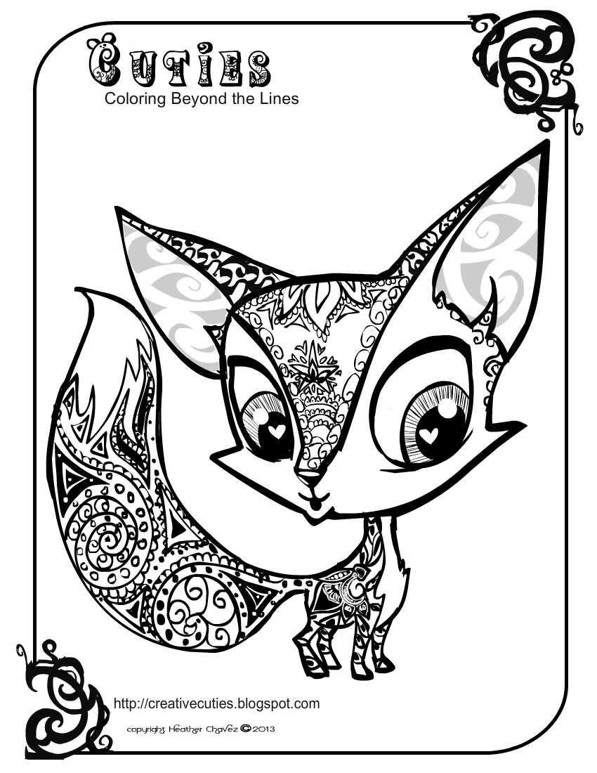 Coloring pages littlest pet shop - Coloring Pages