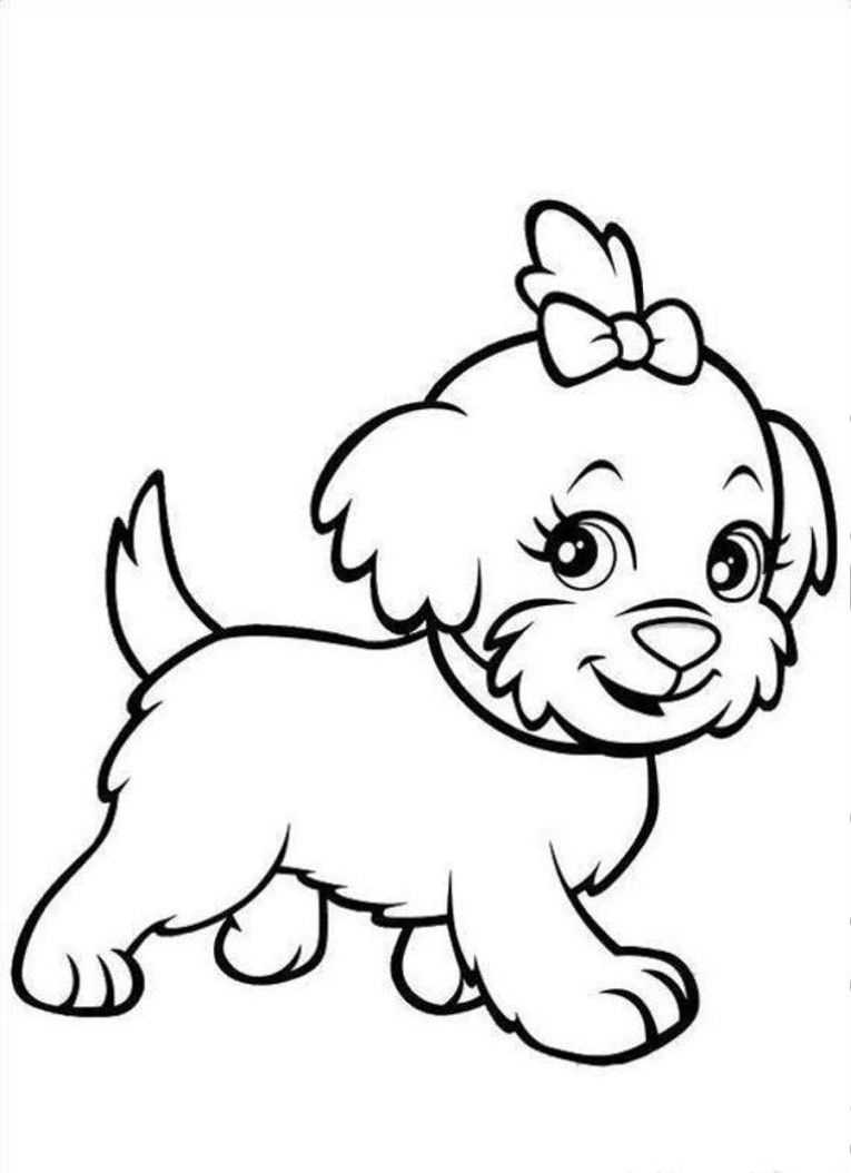 puppy coloring pages animal cute hamster coloring pages