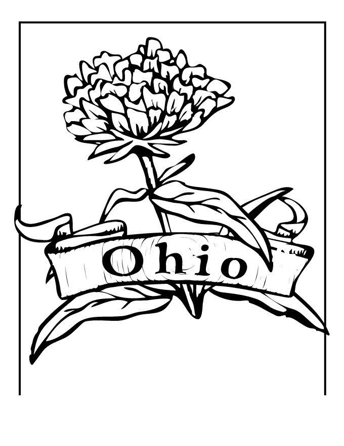 ohio state buckeyes coloring pages - photo#28