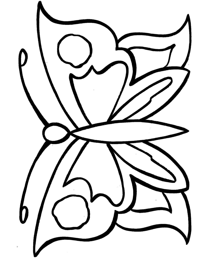 Large Coloring Pages For Kids