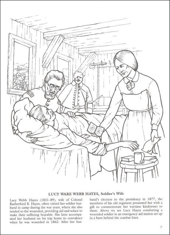Famous Women Of The Civil War Coloring Book (005875) Details ...
