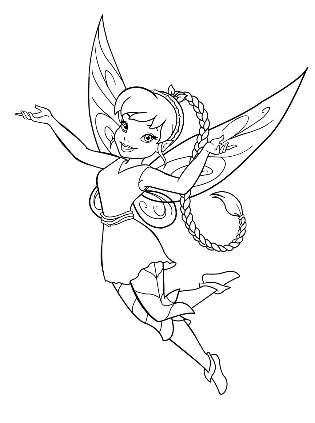 Free Printable Fairy Coloring Pages For Kids Coloring Home