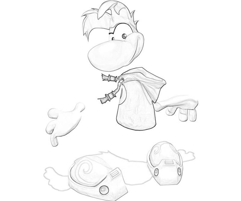 Rayman Legends Coloring Pages - Coloring Home