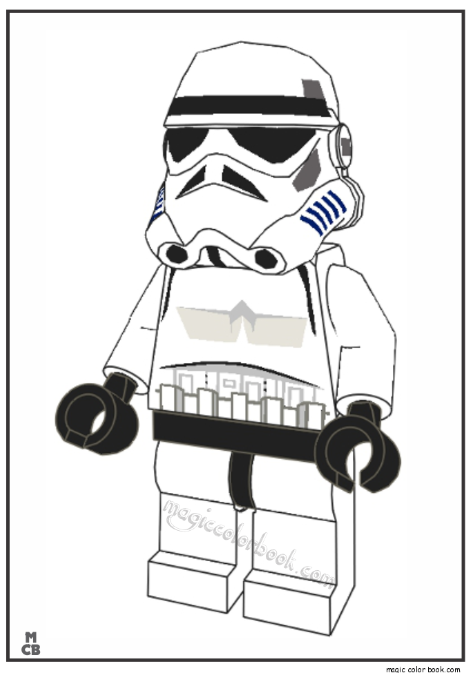 Storm Trooper Coloring Pages Printable Coloring Home