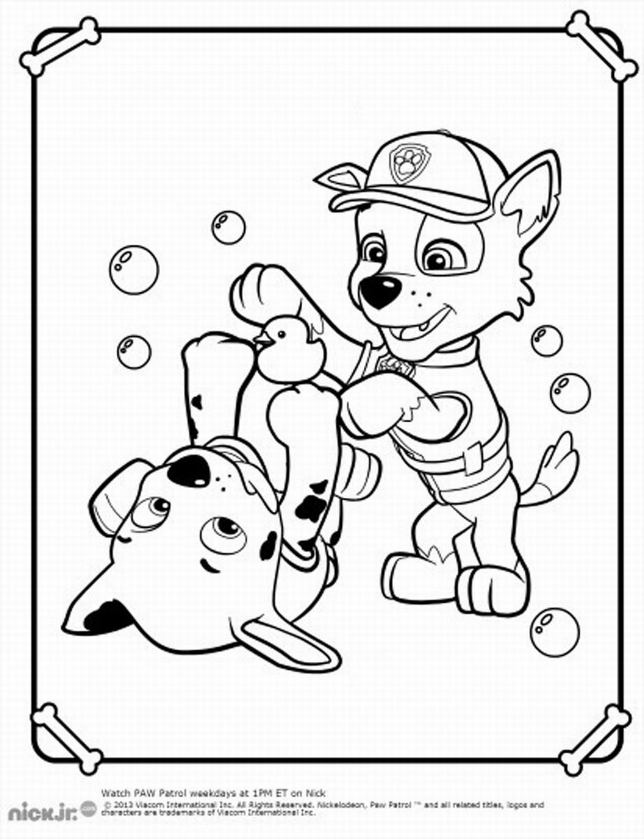 nick jr coloring pages paw patrol high quality coloring pages