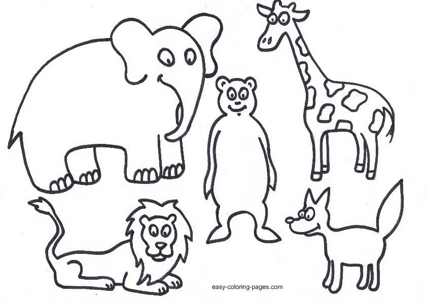 Garden Animals Coloring Pages : Free bible coloring pages of adam and eve home