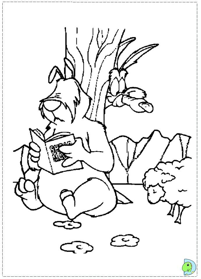 wile e coyote coloring pages - photo#15