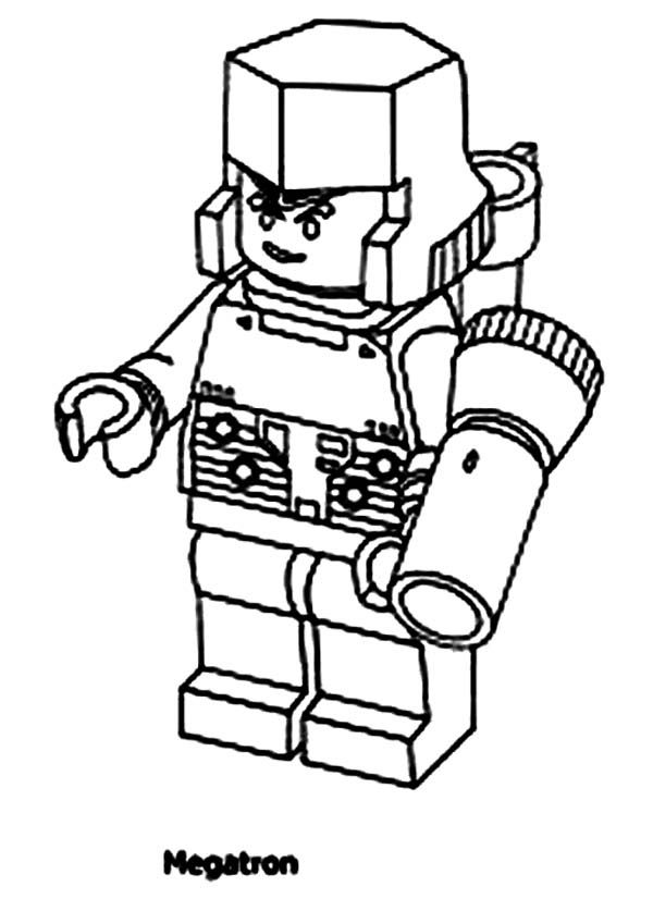 Megatron Coloring Page - Coloring Home