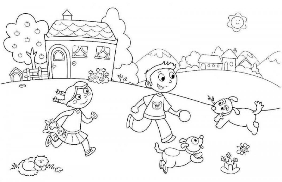 Summer coloring pages for kids to print out coloring home for Summer pictures for kids to colour