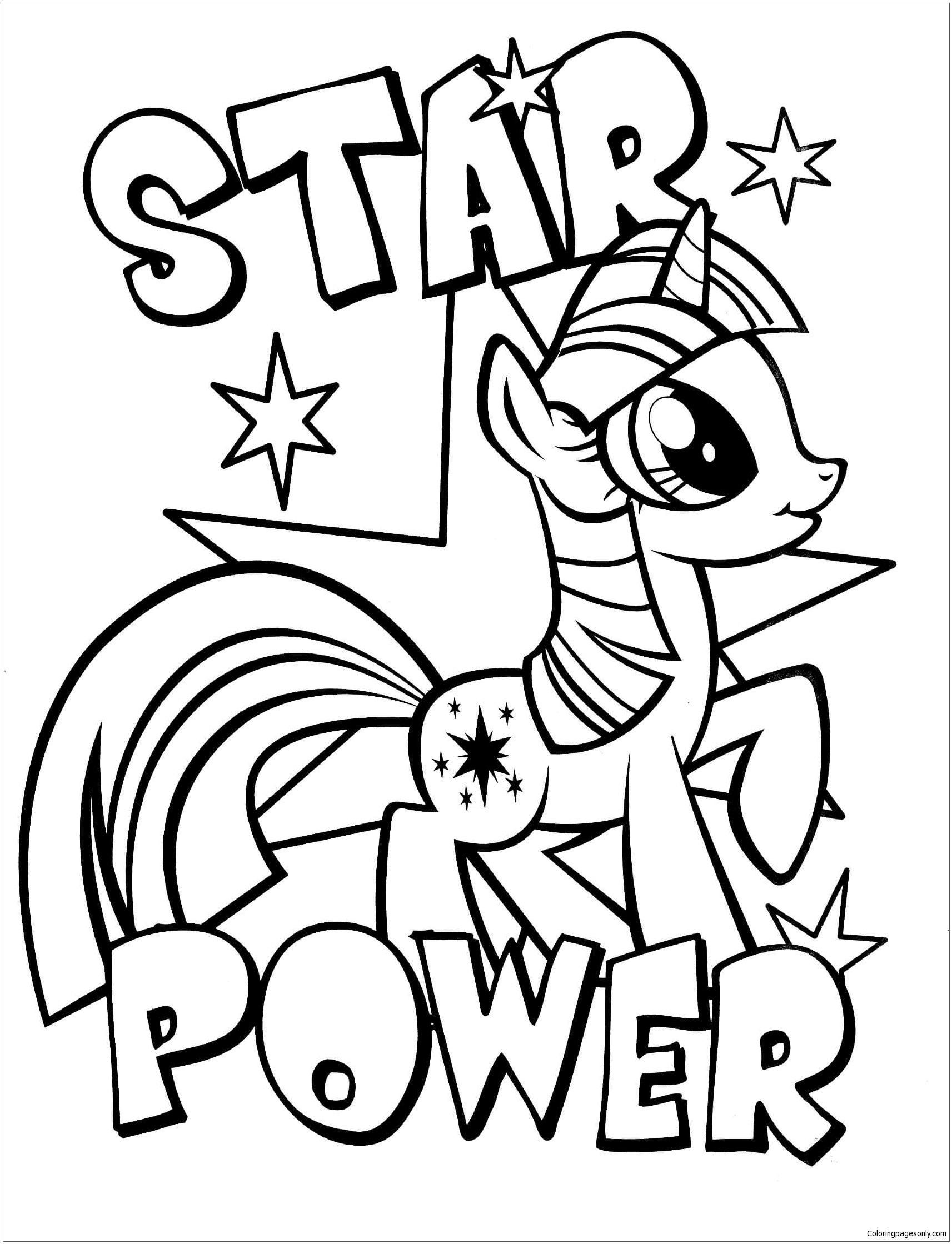 My Little Pony 3 Coloring Page Free Coloring Pages Online Coloring Home