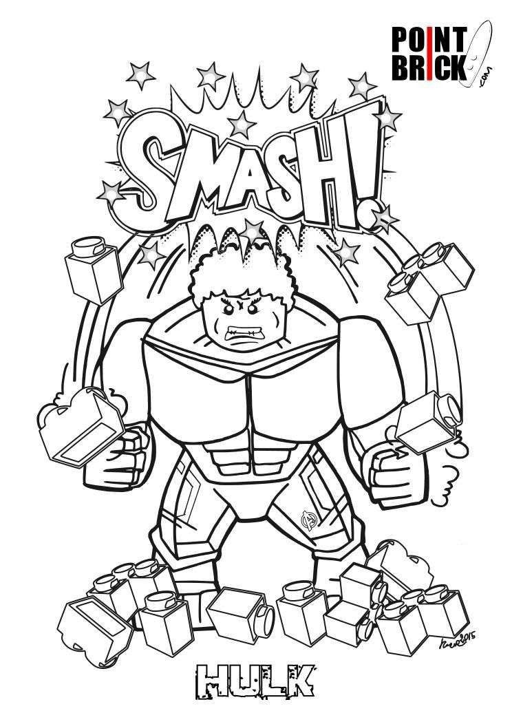 Brick Coloring Page Elegant Lego Superhero Coloring Pages Luxury Lego  Superheroes Coloring Pages | Superhero coloring pages, Lego coloring pages,  Avengers coloring pages