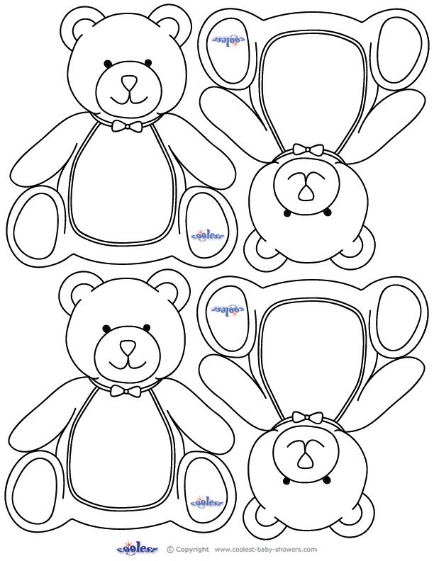 Free Printable Baby Shower Coloring Pages - Coloring Home