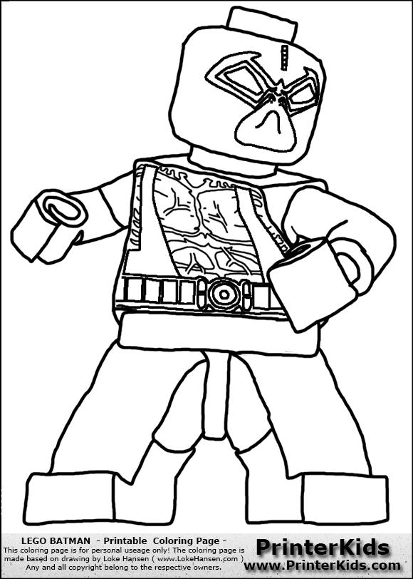 Lego Batman Coloring Page Coloring