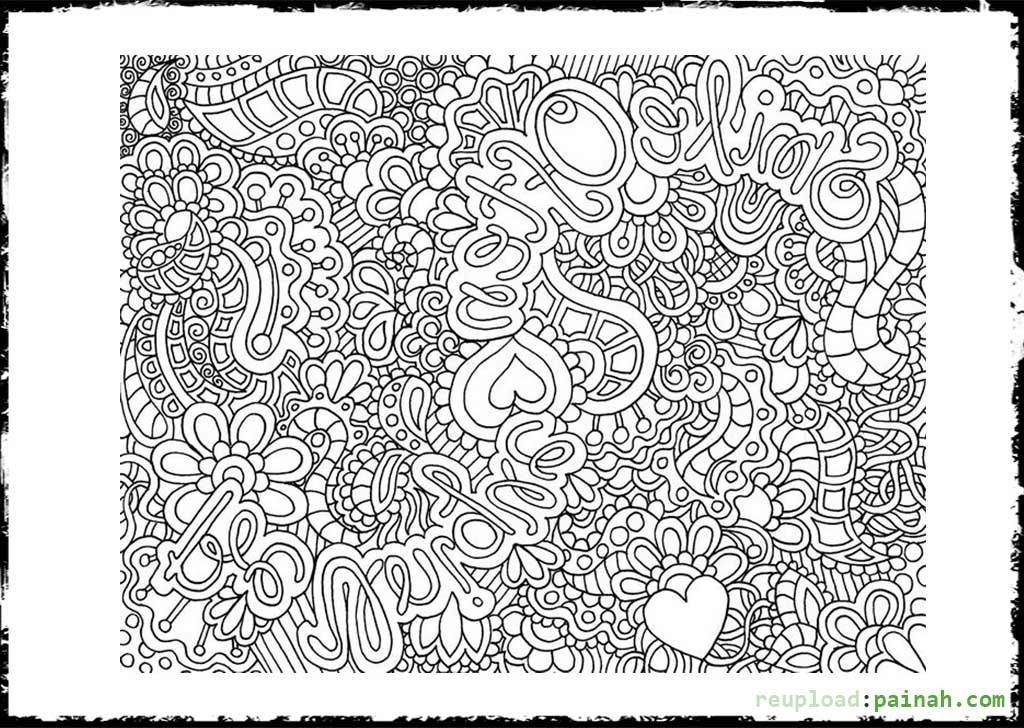 Very Detailed Coloring Pages Coloring Home Detailed Coloring Pages For
