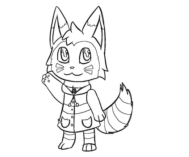 This is an image of Stupendous animal crossing coloring pages