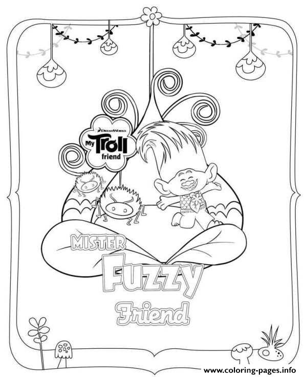 Trolls Movie Coloring Pages Coloring