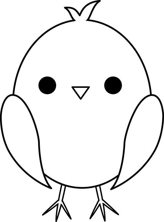 bird cut out template