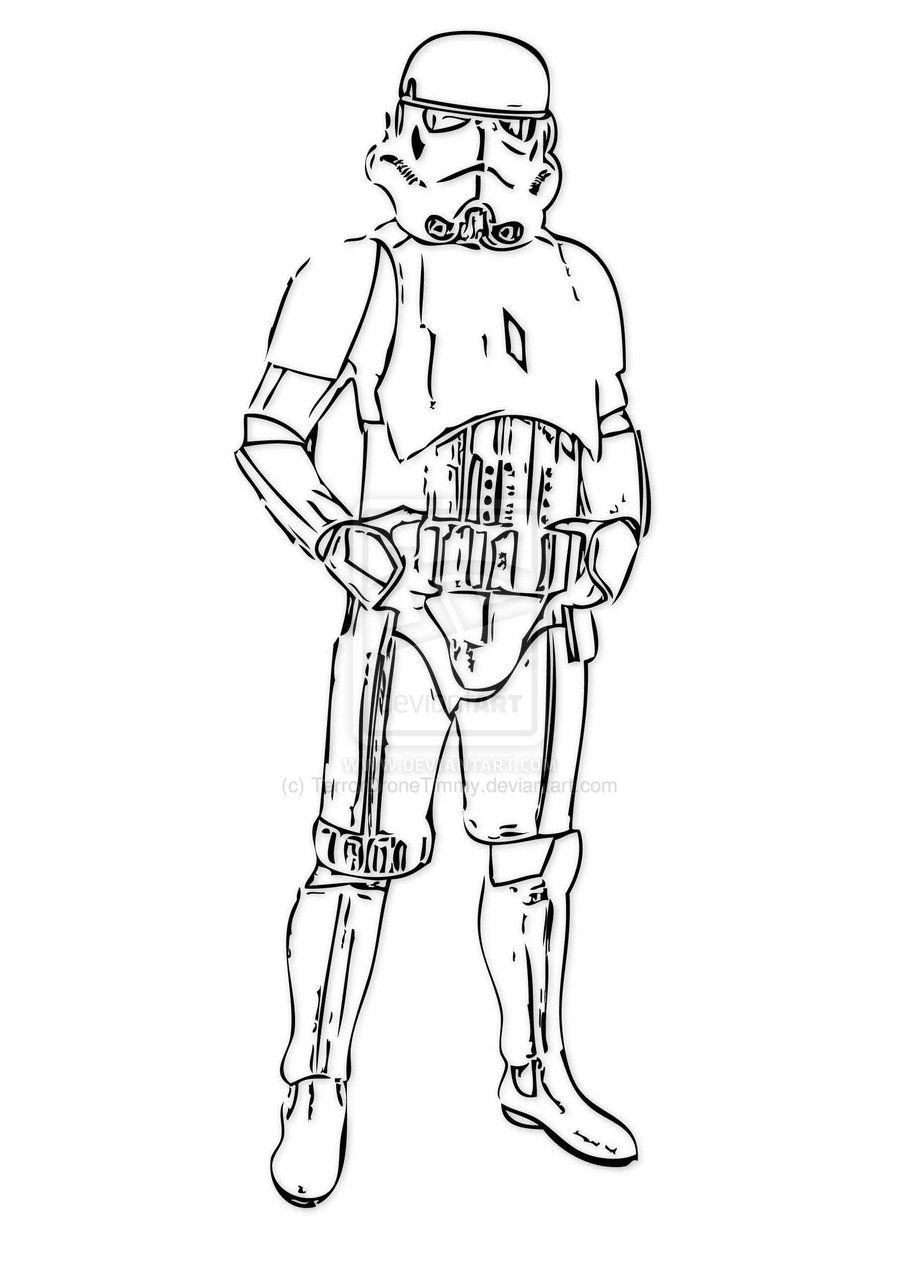 Stormtroopers Coloring Pages Printable (352220)
