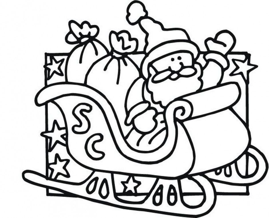 coloring pages santa amp rudolph az coloring pages