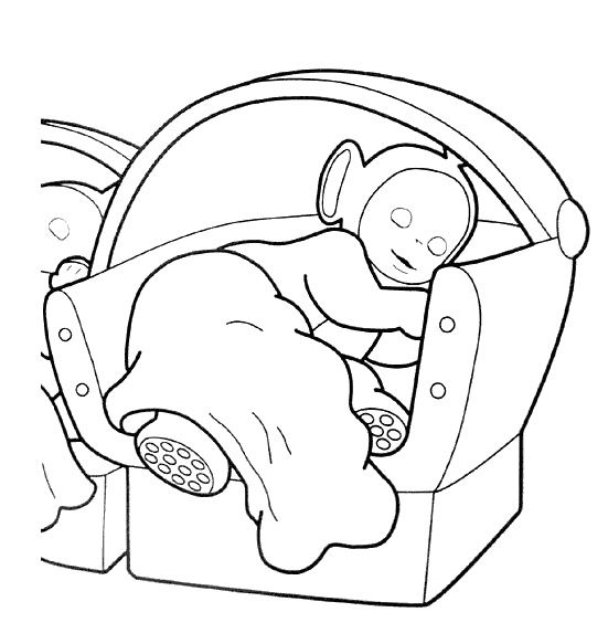 Teletubbies Sleep Coloring Page | Coloring pages, Teletubbies, Coloring for  kids