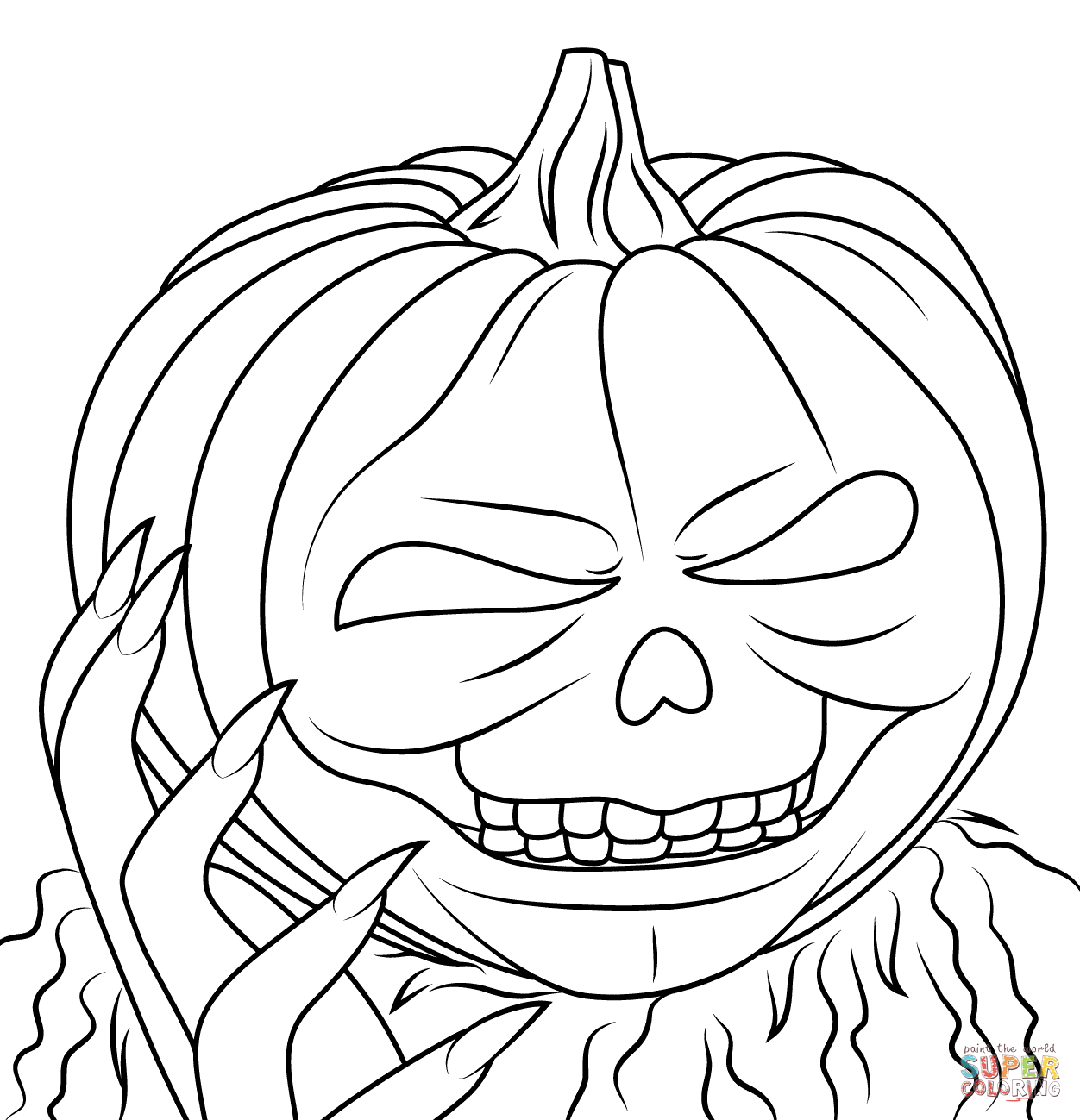Printable Goosebumps Coloring Pages Coloring Home