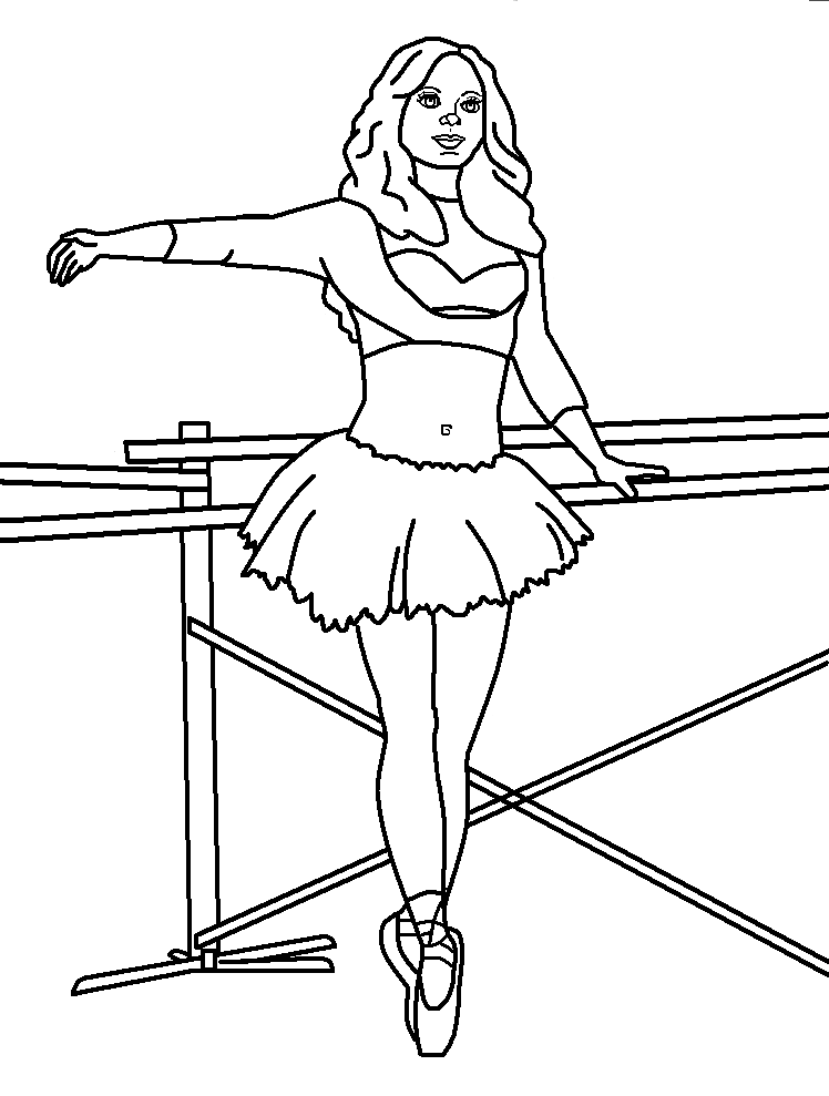ballet coloring pages for adults - photo#32