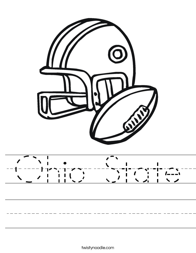 ohio coloring pages - photo#31