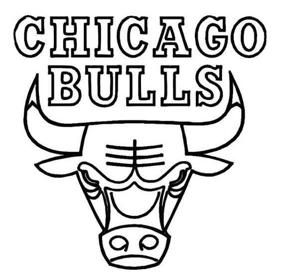 Chicago Bulls Coloring Pages - Coloring Home