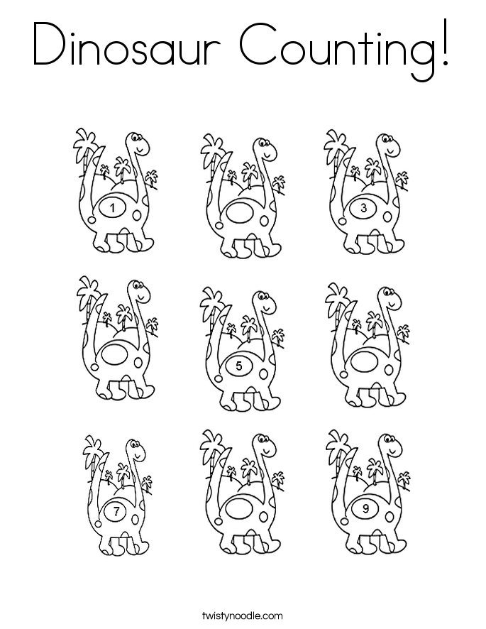 d is for dinosaur coloring pages - photo #31