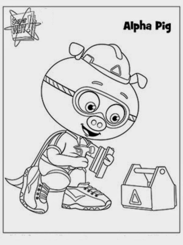 Super Readers Coloring Pages Az Coloring Pages Why Coloring Page