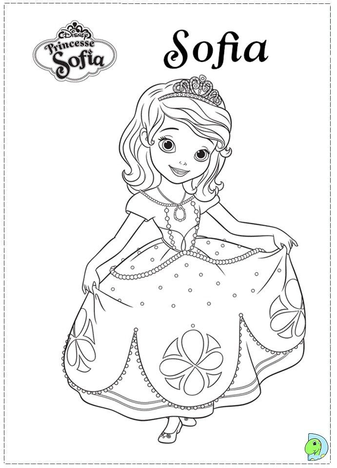 - Sofia The First Coloring Pages - Coloring Home