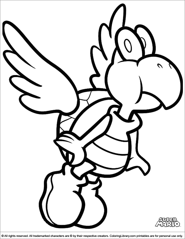 mario bad guy coloring pages - photo#9