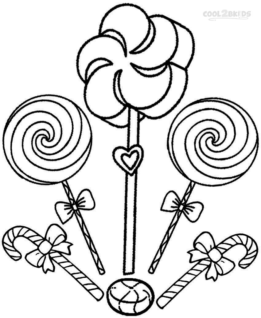 - Sweets Coloring Pages - Coloring Home