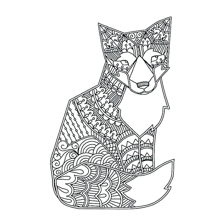 Hard Animals Coloring Pages Coloring Home