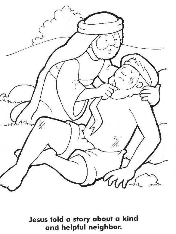 1000 images about the good samaritan on pinterest good good samaritan coloring page - Good Samaritan Coloring Page